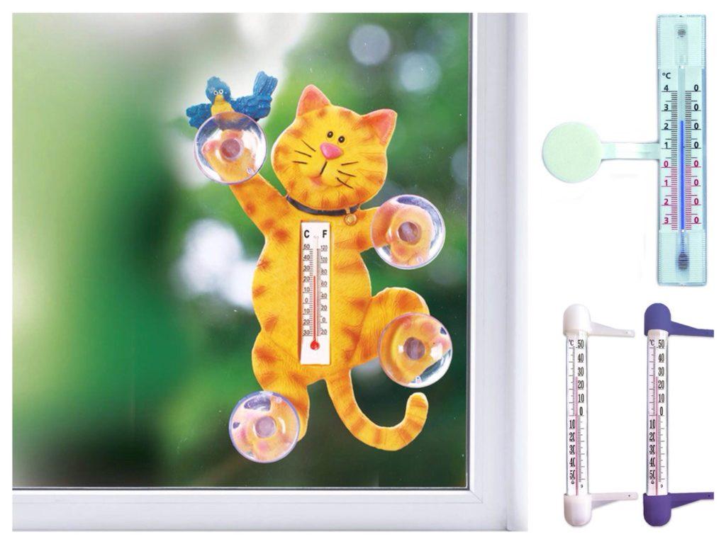Капиллярный и бытовой варианты термометров