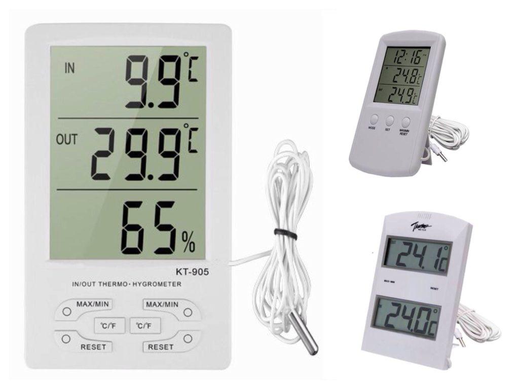 Уличные электронные термометры