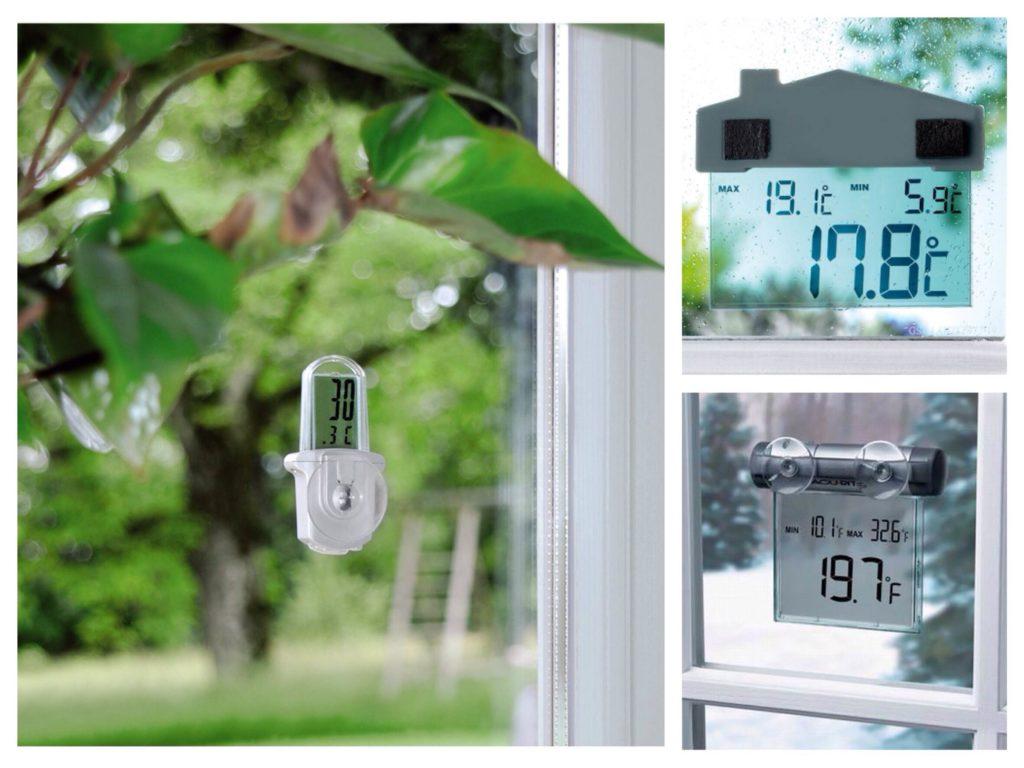 Варианты крепления электронных термометров