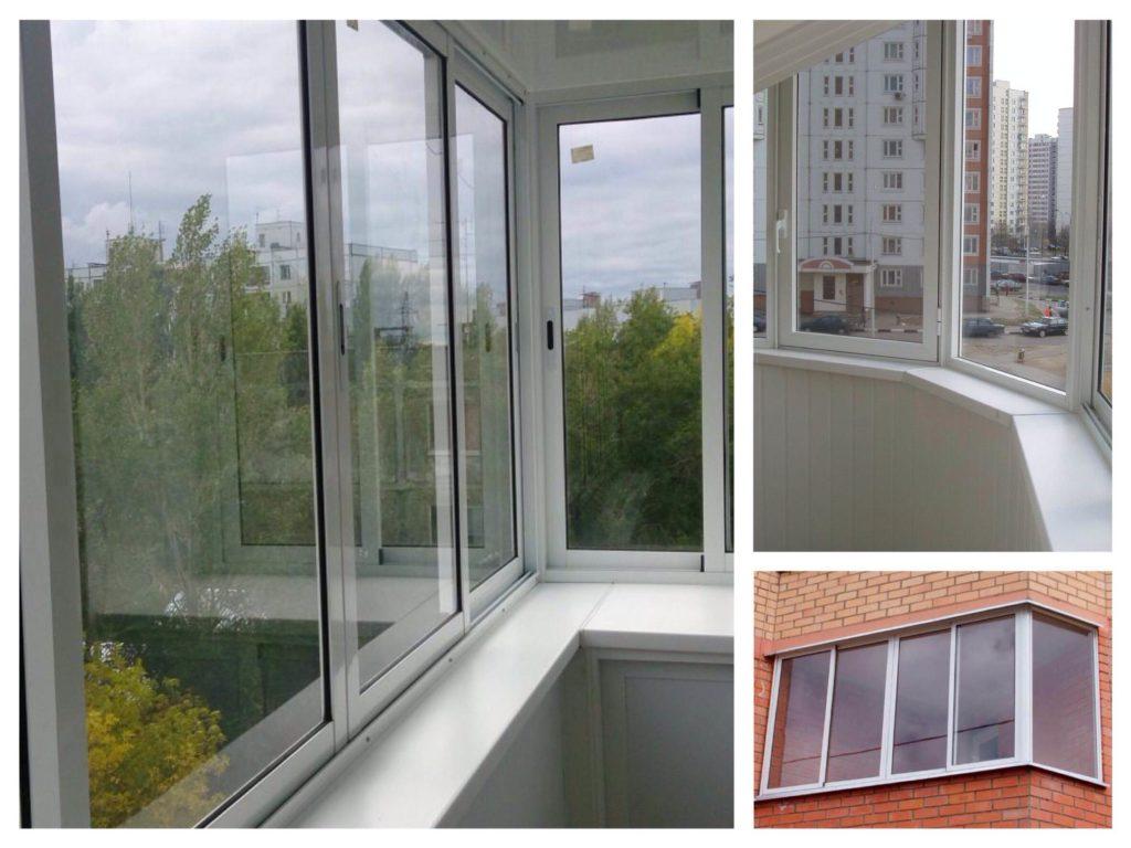 Раздвижной алюминий в остеклении балконов и лоджий