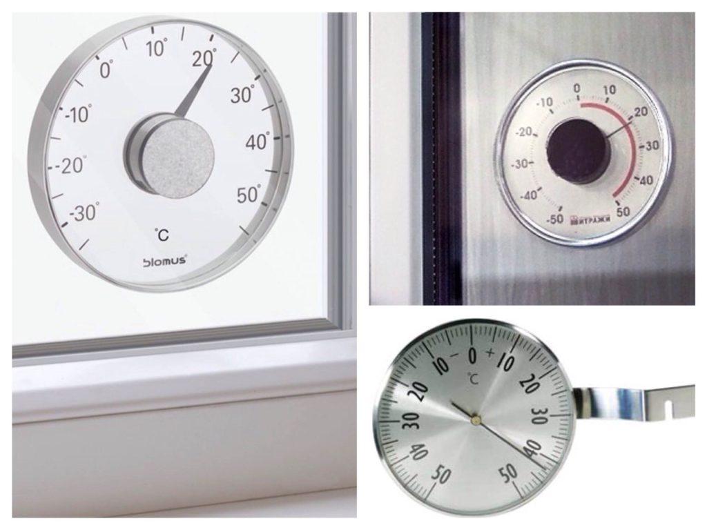 Варианты уличных термометров