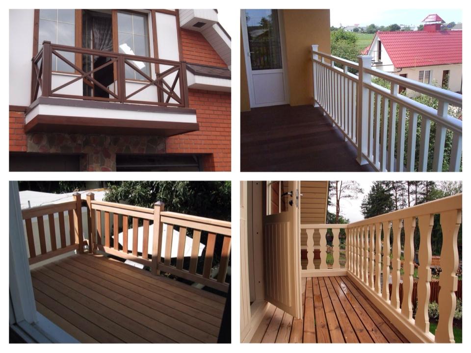 балконы загородных домов