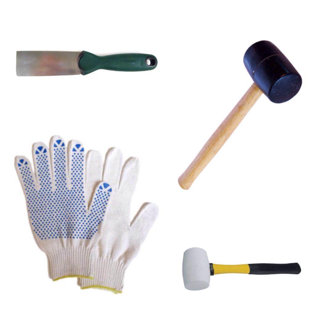инструменты для замены стеклопакета