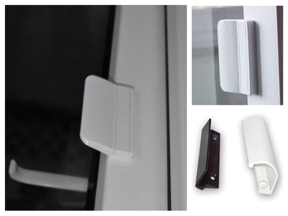 ручки балконной двери