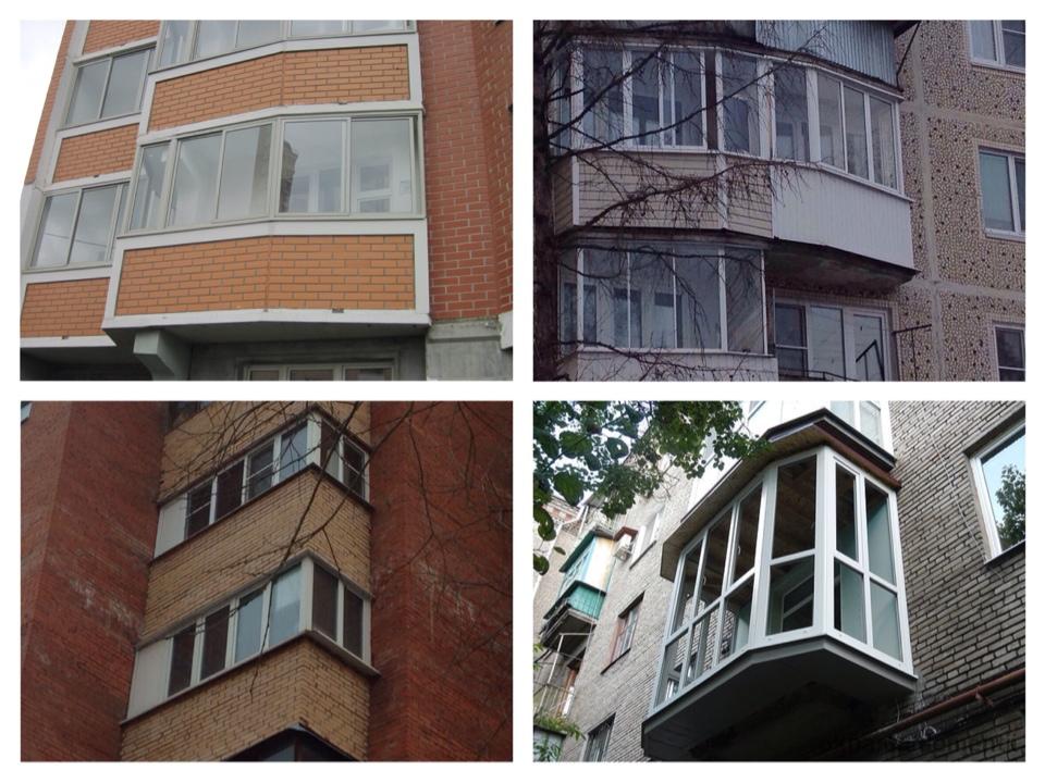 варианты парапетов балконов