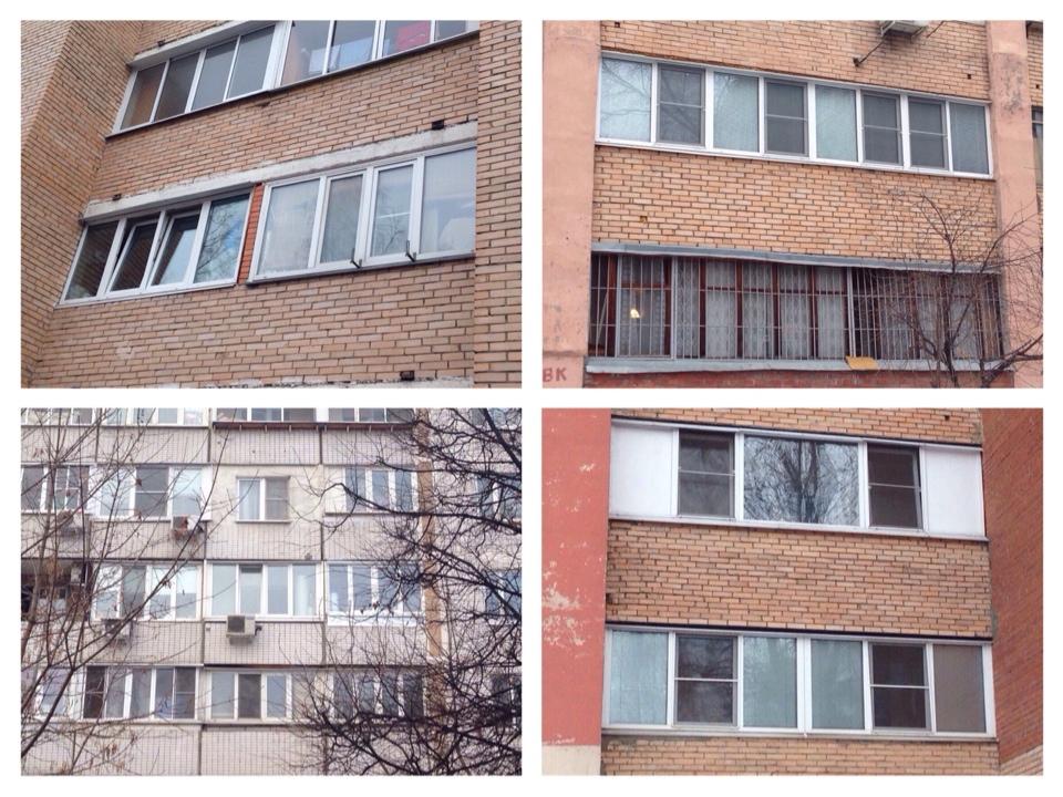 Отличие балконов от лоджий.