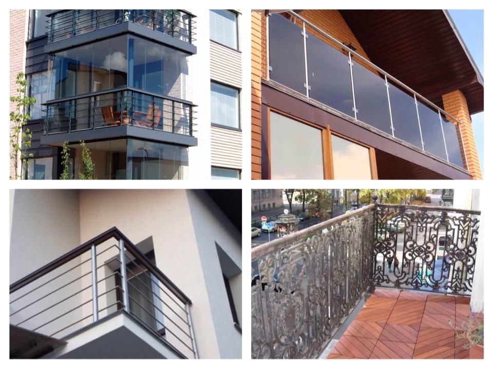 Остекление балконов по типам домов: фото, отличия.