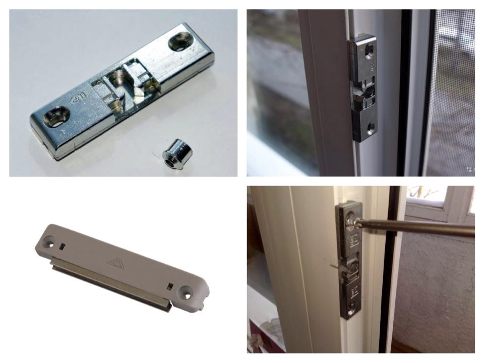 Защелка для балконной двери: фото, советы по установке.