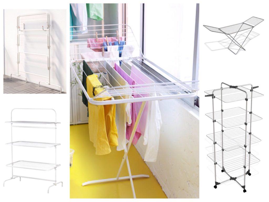 напольные мобильные сушилки для балкона
