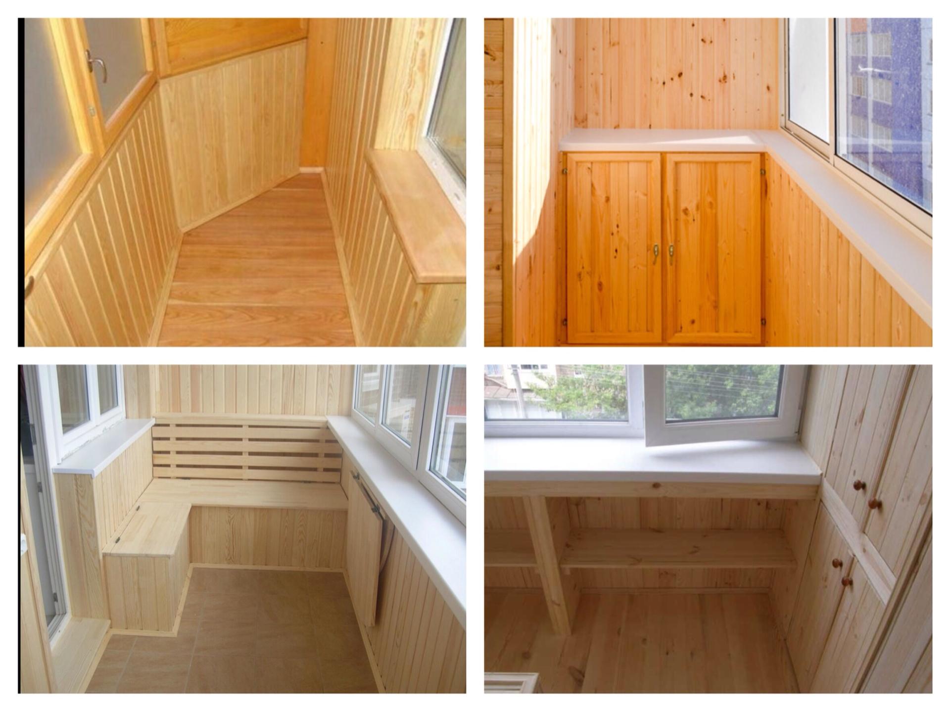 Чем лучше обшить балкон и лоджию внутри: материалы, фото и в.