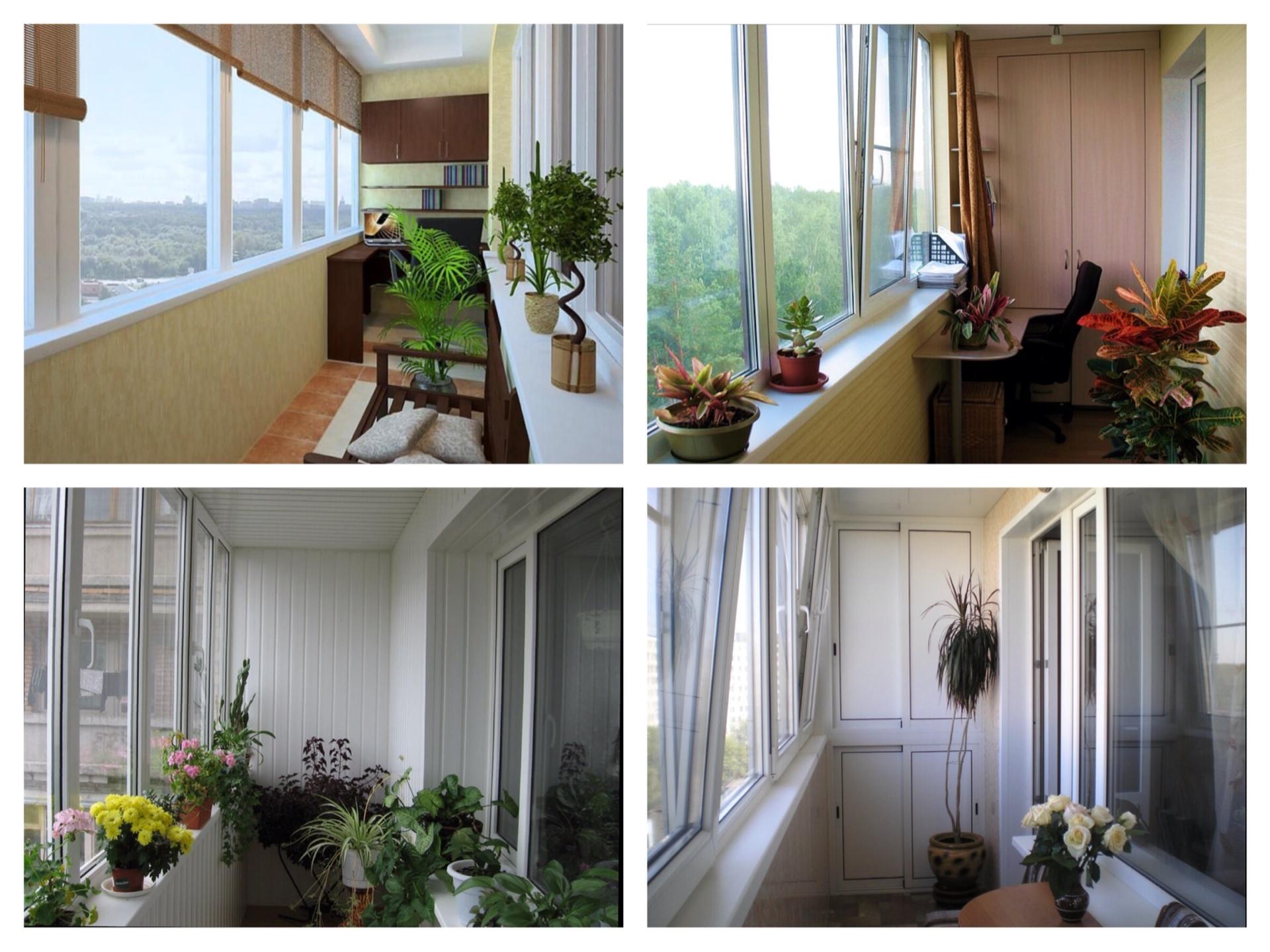 Варианты остекления балконов видео.