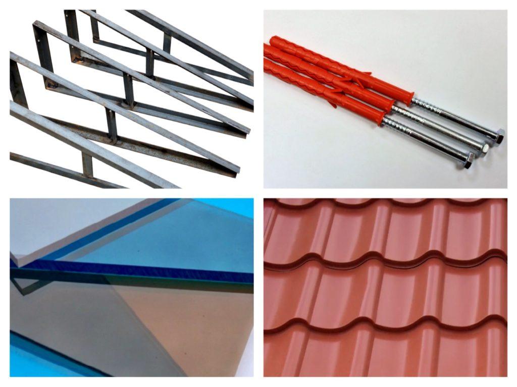 комплектующие для балконной крыши
