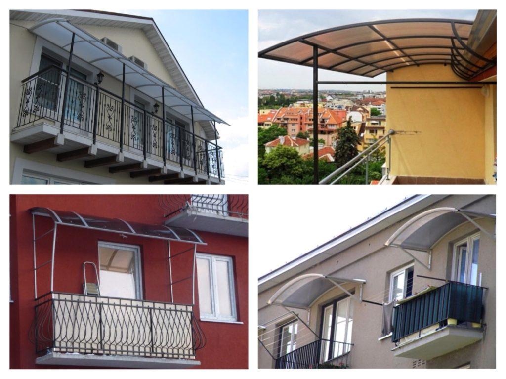 Установка и ремонт крыши на балконе: обзор вариантов и матер.