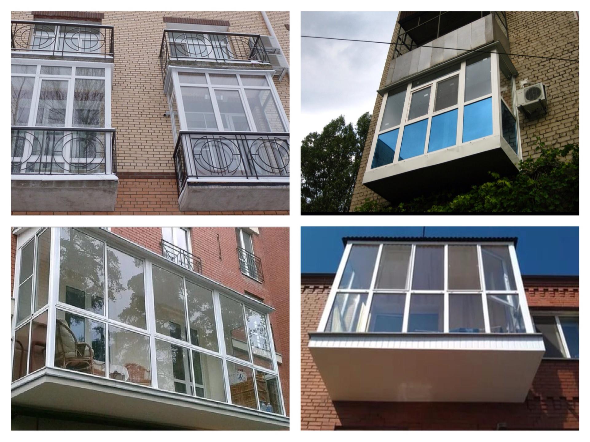 Панорамное остекление лоджии и балкона: фото, сравнение вари.