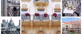 кованые балконы варианты