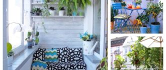варианты декорирования различных балконов