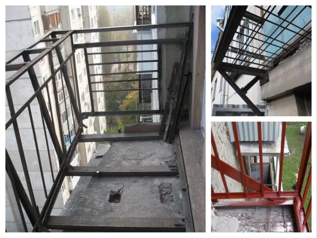 подготовка парапета балкона к остеклению